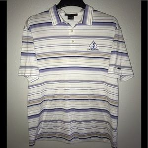 Men's Nike FITDRY tiger woods collection polo LG